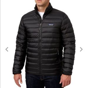 Patagonia Men's Black Down Sweater Jacket